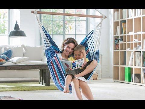 La chaise hamac peut se partager et reste très appréciée des enfants