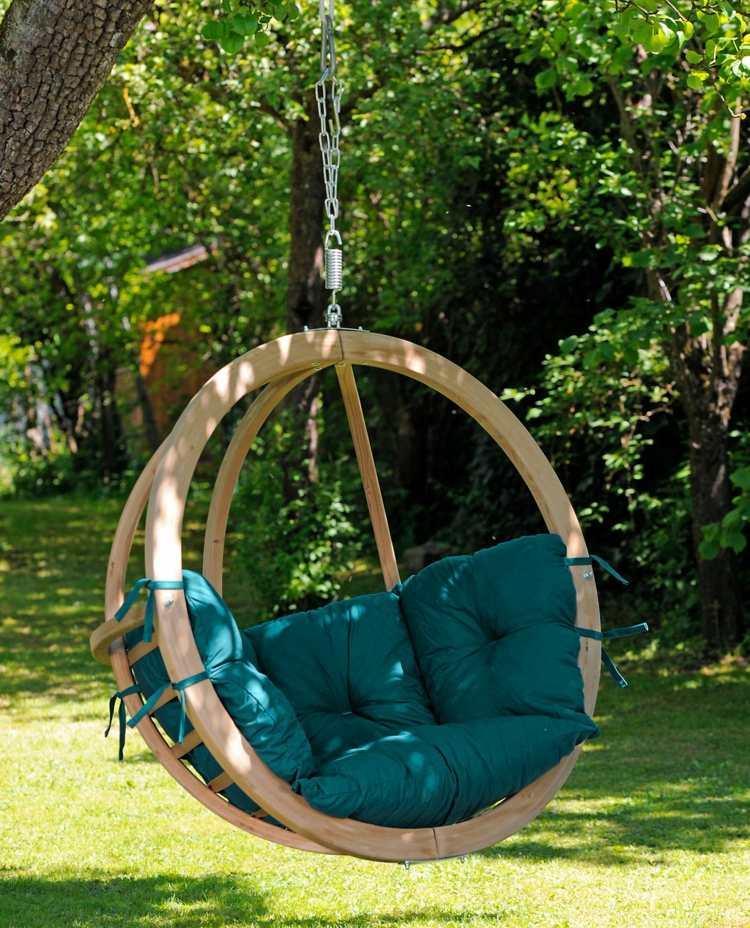 La chaise hamac, une idée sympa pour le jardin