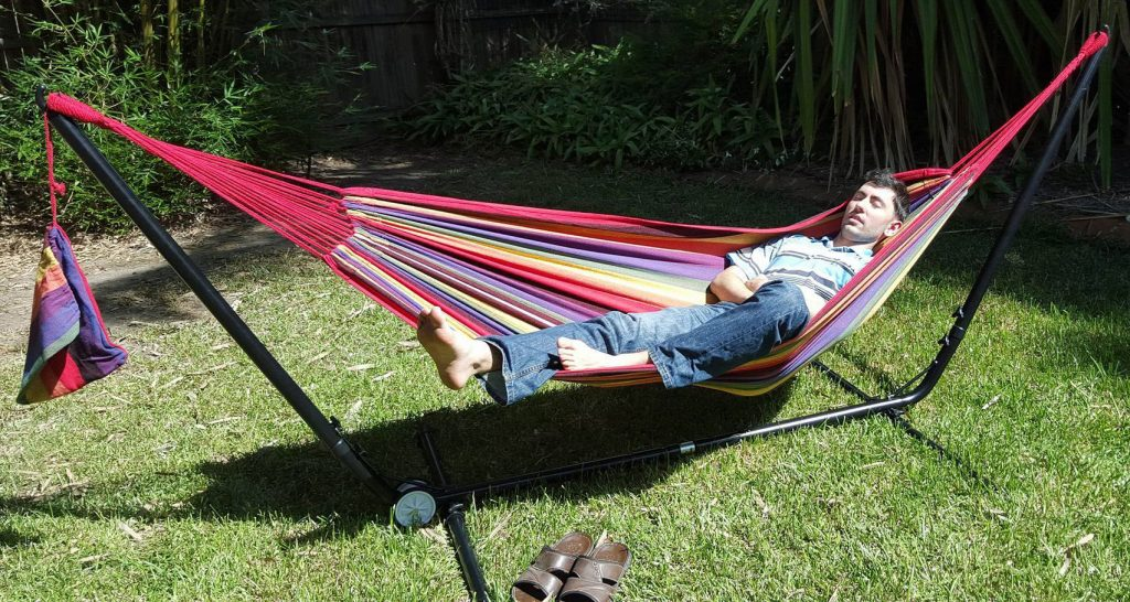 La sieste est encore plus agréable au sein d'un hamac