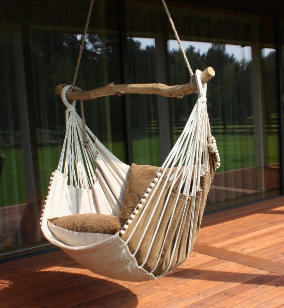 Une très belle chaise hamac faite maison un must du diy