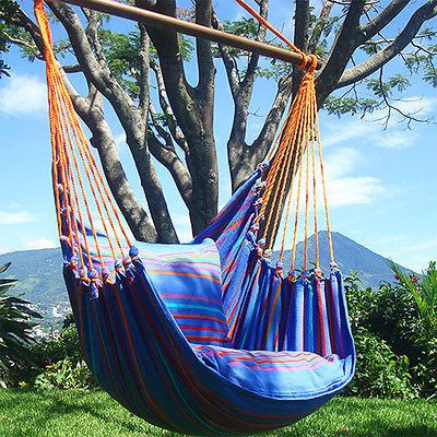 Chaise hamac simple à installer dans votre jardin