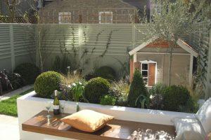 Modele de banc de jardin