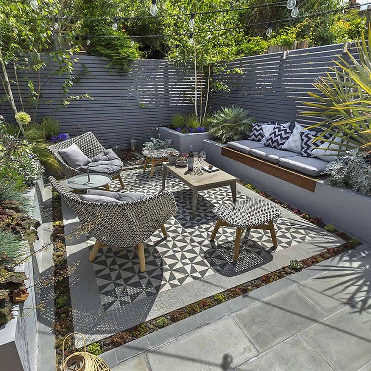 Banc De Jardin Design Facon Banquette Integree Dans Mobilier