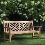 Banc de jardin en bois 3 places