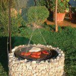 Brasero barbecue aspect puit
