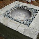 Brasero design pierre et galet a faire soi meme diy