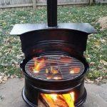 Brasero design pour barbecue