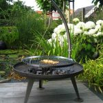 Brasero fonte pouvant servir de barbecue