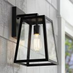 Eclairage lanterne avec ampoule design pour exterieur de maison