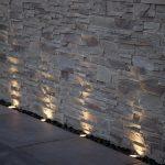 Eclairage sol contre plongee exterieur mural
