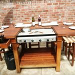 Grande plancha table encastrable