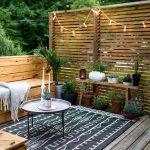 Guirlandes pour maison patio exterieur