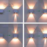 Idee applique design pour eclairage exterieur