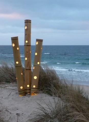 Lampe Bambou Exterieur