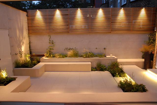 Magnifique eclairage exterieur mural design salon de jardins for Eclairage design exterieur