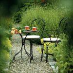 Petite table de jardinexterieur ronde 2 personnes