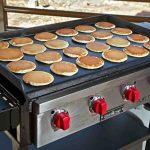 Plancha professionnelle a gaz 24 pancakes