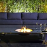 Table brasero design et tres moderne