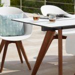 Table de jardin design esprit nordique ikea pour exterieur