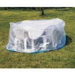 Table de jardin ovale en plastique premier prix