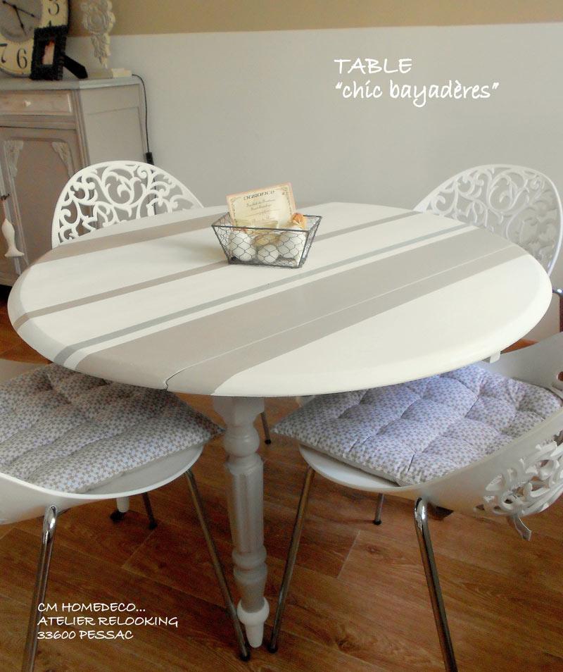 Table de jardin ronde design avec ses chaises esprit nordique ...