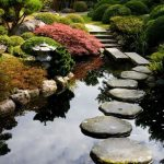 Jardin japonais eau mousse et zen