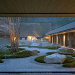 Jardin japonais epure et zen