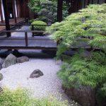 Jardin japonais minimaliste