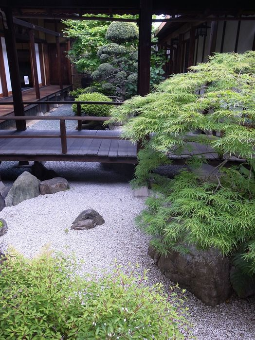 Jardin japonais minimaliste - Salon de Jardins