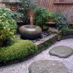 Jardin japonais simple et admirable
