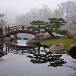 Jardin japonais typique