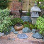 Jardin japonais zen et calme